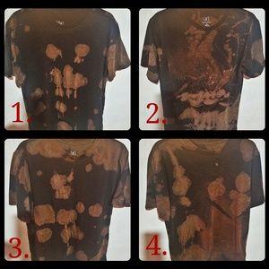 Reverse Tie-dye Shirt